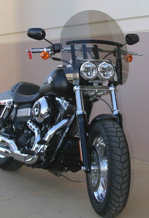 Harley Davidson Wind Splitter Vented Windshield Reviews