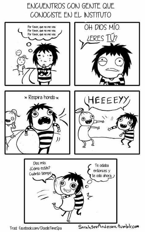 Sarah See Andersen ✤ SARAH'S SCRIBBLES || 搞笑漫畫 • #Risa #Comic #Memes #RealidadFemenina #Pensamientos || ★ https://es.pinterest.com/kunstler9/sarah-see-andersen/