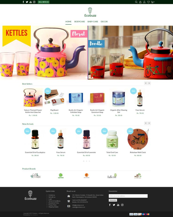 X-mx Solulutions recently launched a new #website #ecommerce #Shopping #Cart #Newsletter #Products #Reviews #Ratings #COD #Wishlist review website at ecobuzz.co.in