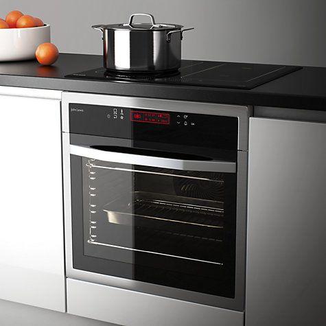 john lewis partners jlbios617 single oven stainless. Black Bedroom Furniture Sets. Home Design Ideas