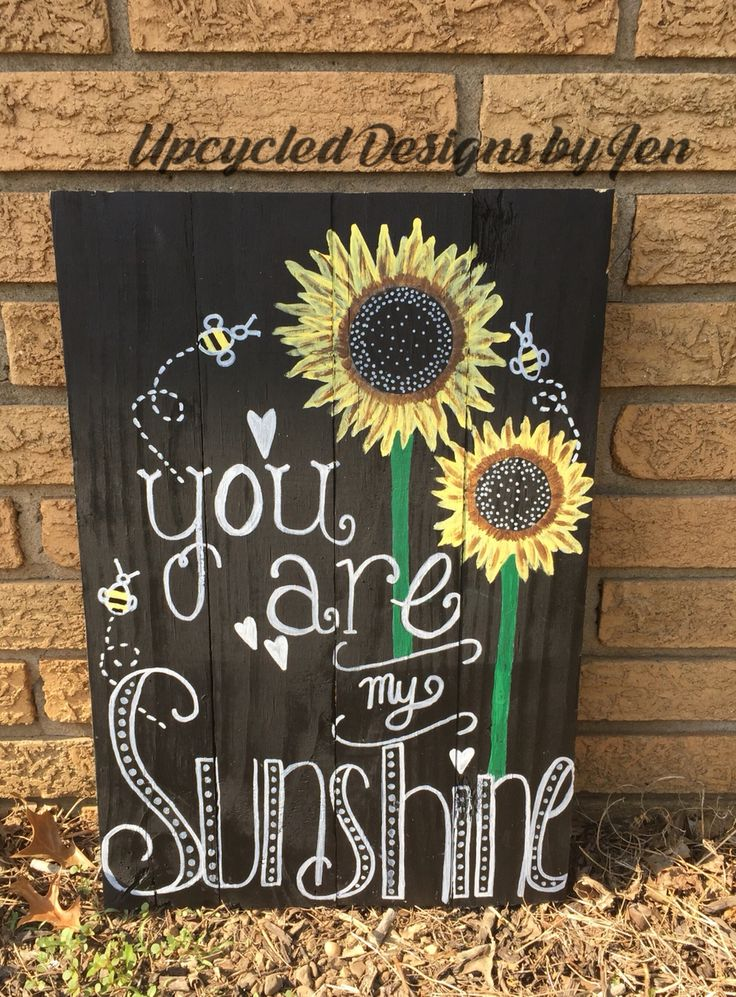 You are my sunshine! Pallet sign