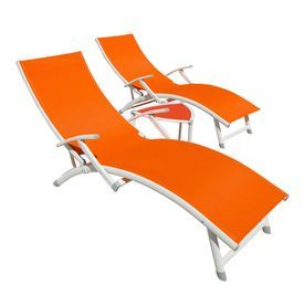 95 best new house furnishings images on pinterest lowes for Allen roth tenbrook extruded aluminum patio chaise lounge