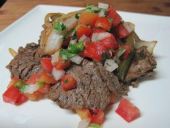 Steak Fajitas 1 3 Cup Soy Sauce 1 2 Cup Chopped Cilantro 5 Green
