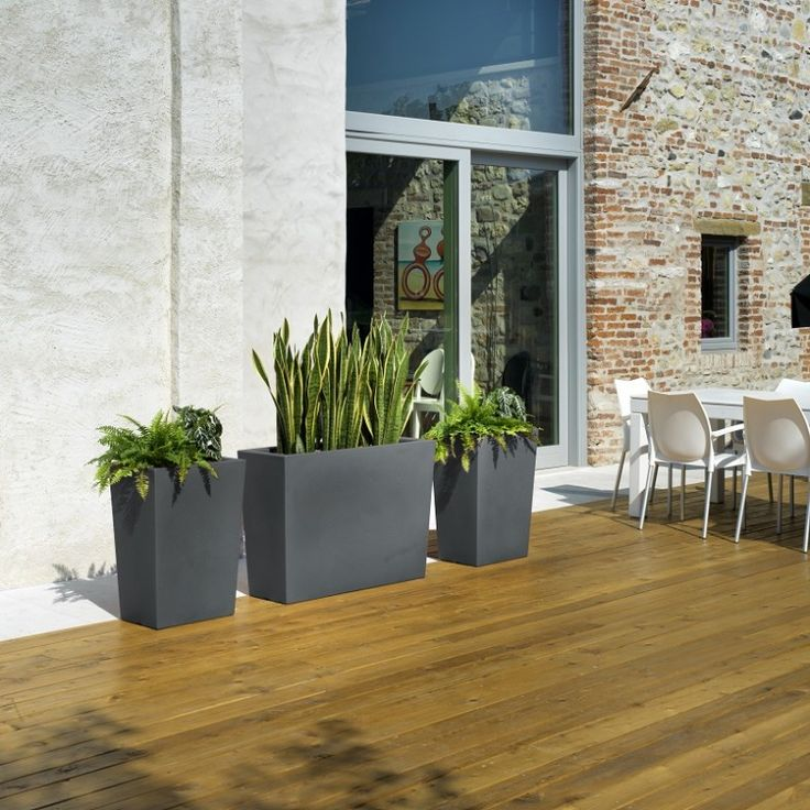1000 ideas about large flower pots on pinterest indoor for Large flower bed ideas