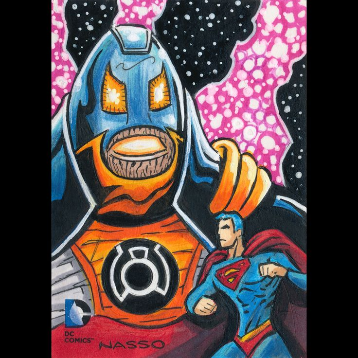 Superman vs. Anti-Monitor  © 2014 Cryptozoic Entertainment. All Rights Reserved. © DC Comics.