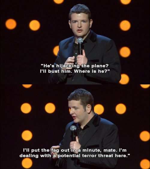 And its robust attitude to terrorism: | 19 Times Kevin Bridges Perfectly Summed Up Scottish Life
