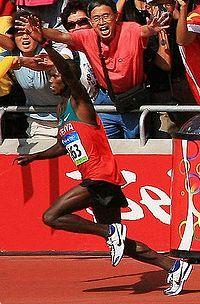 2008 Samuel Wanjiru (Kenya) JO Pekin (Chine)