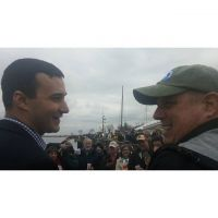 @mayorpantelides & Governor Larry Hogan at the 6th #annapolis #maryland