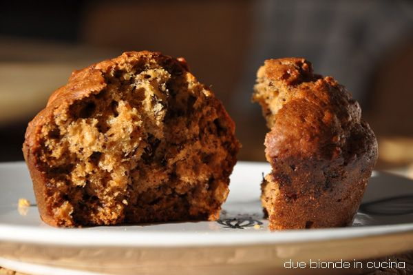 Due bionde in cucina: Muffin con banane e avena di Gordon
