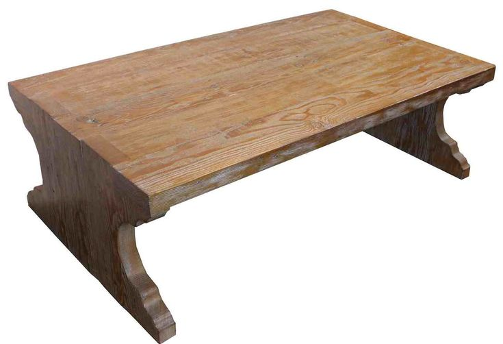 Reclaimed Wood Coffee Table Design — Interior Home Design