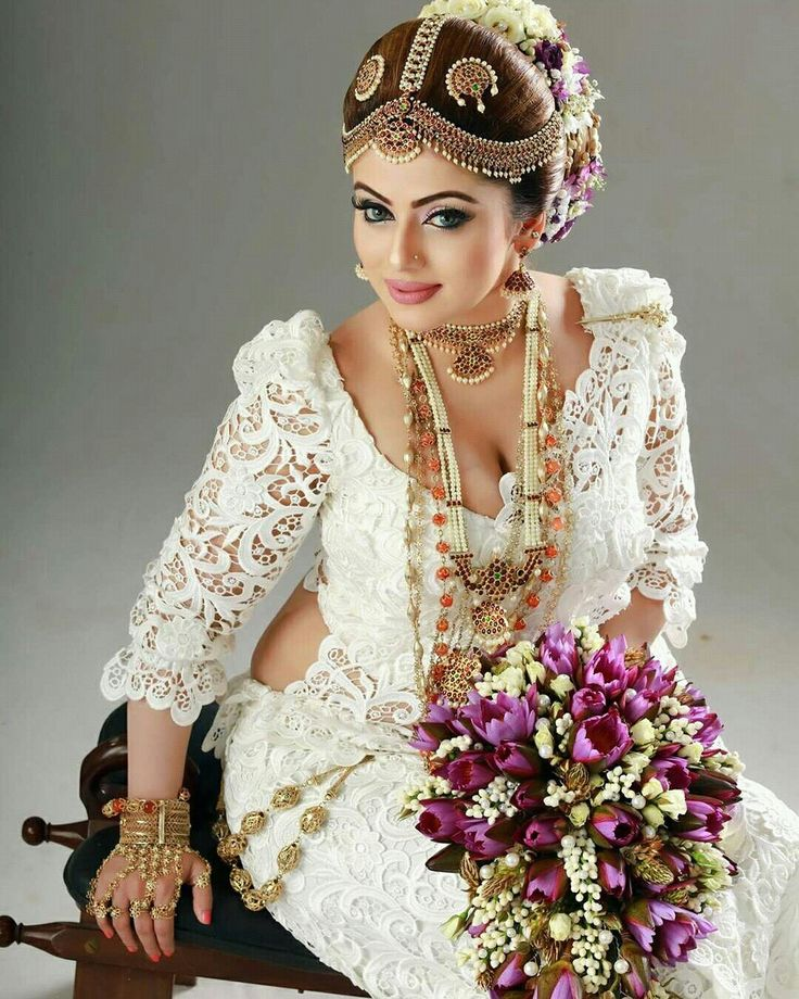 Pin on Kandyan Brides