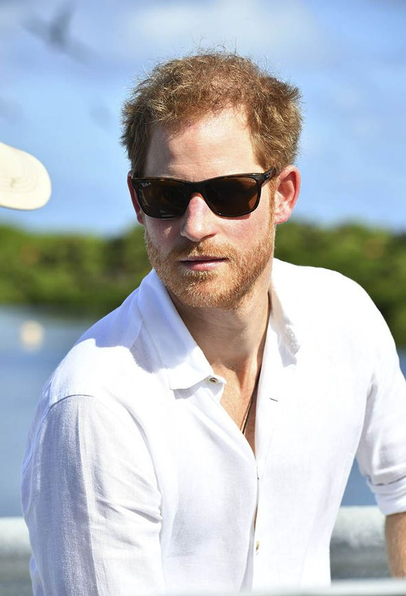 Prince Harry in sunglasses