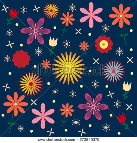 This image is a vector file representing a Floral Vector Pattern Seamless Design Illustration./Floral Vector Pattern Seamless Background/Floral Vector Pattern Seamless Background