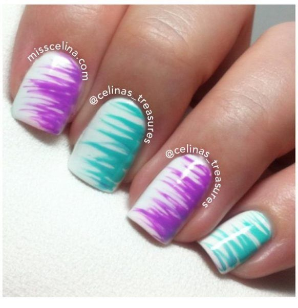 111 best nails images on pinterest nail art designs cute nails easy nail designs for beginners so cute and simple that you can do it yourself solutioingenieria Gallery
