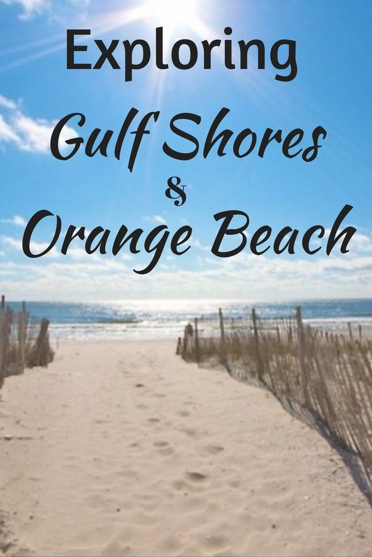 Where can you go to experience some of America's finest beaches yet still have plenty of activities and attractions to explore? Many people would probably mention destinations in Florida or California but we want to share with you our thoughts on Gulf Shores and Orange Beach, Alabama and why this is such an appealing destination for us!