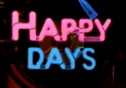 Happy Days ~ when I was in high school, this was the show to watch! Richie, Ralph Malph, Potsie, Mr. and Mrs. C and who can ever forget Fonzie?!