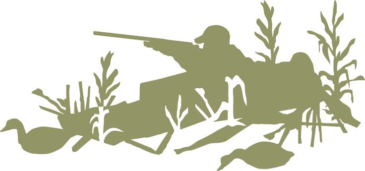 cart blind | Duck Hunting Layout Blind Wall Decal