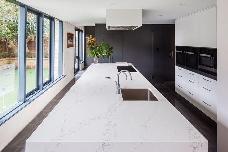 Statuario Quartz > Quantum Quartz > Quantum Quartz, Natural Stone Australia, Kitchen Benchtops, Quartz Surfaces, Tiles, Granite, Marble, Bathroom, Design Renovation Ideas. WK Marble & Granite Pty Ltd Australia.