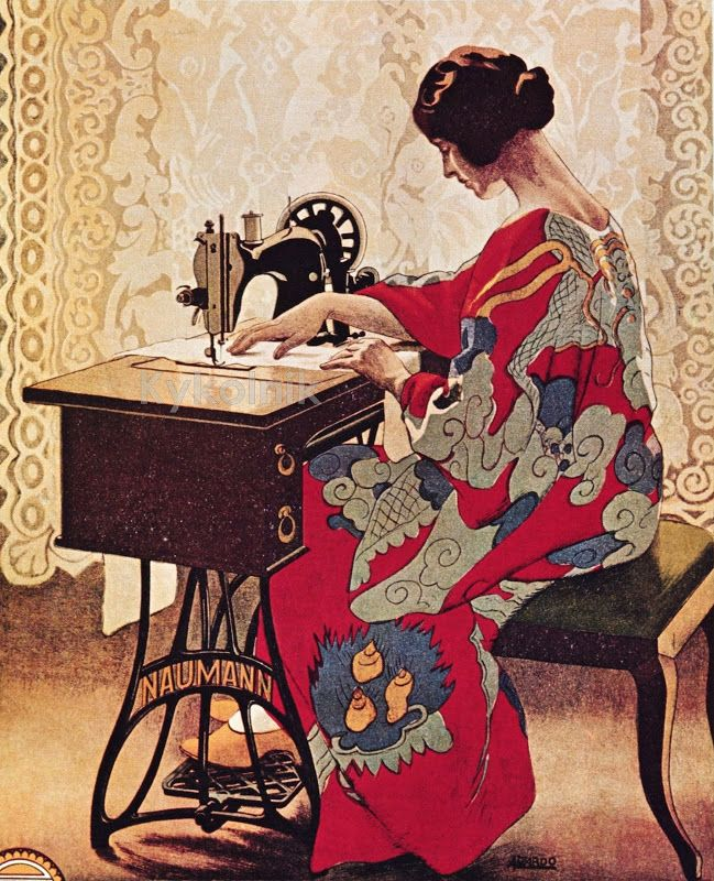 Днем, картинки на тему шитья одежды со швейной