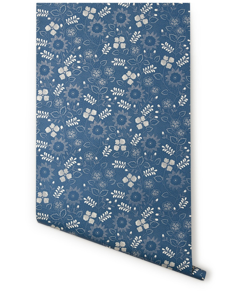 Hygge & West Pin Dot (Blue) Color shapes, Pretty patterns