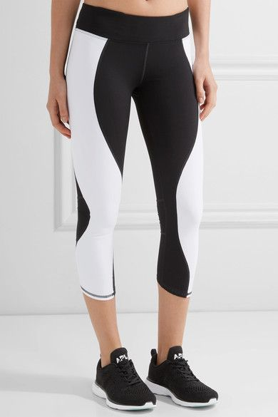Athletic Propulsion Labs - Gazelle Cropped Stretch Leggings - Black - x small