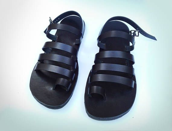 Leather Hand made Gladiator Sandals for Men and Women-Color