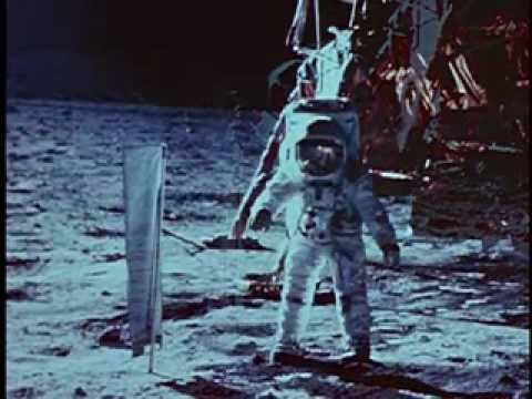 """Through television, motion picture and still photography, this film provides an """"eye-witness"""" perspective of the Apollo 11 mission that put a human on the moon in July 1969. 29 minute video"""