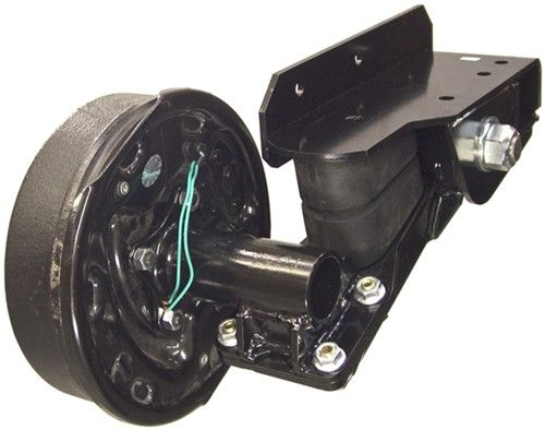 Timbren Axle-Less Trailer Suspension System w Electric Brake Hubs - Straight Spindle - 3,500 lbs Timbren Trailer Axles A35RS545E