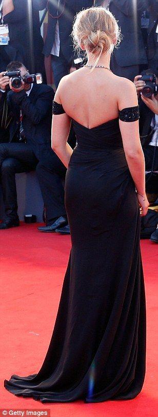 Scarlett Johansson at the premiere of Under The Skin