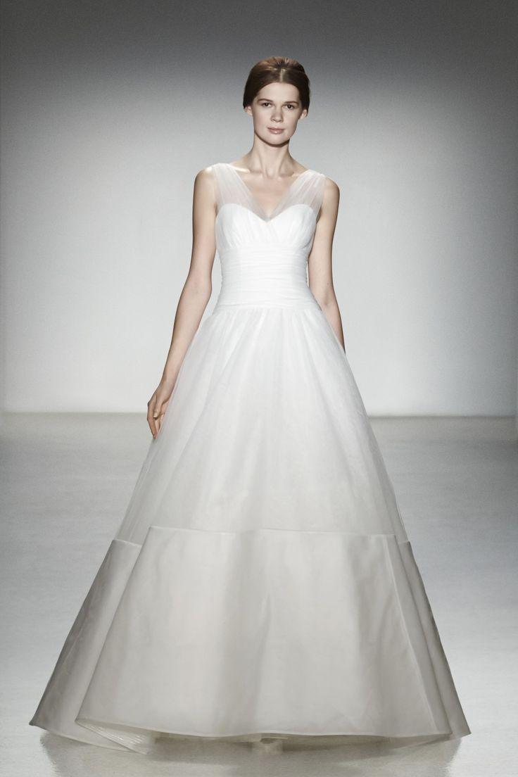 11 best Amsale 2014 Bridal Collection images on Pinterest | Wedding ...