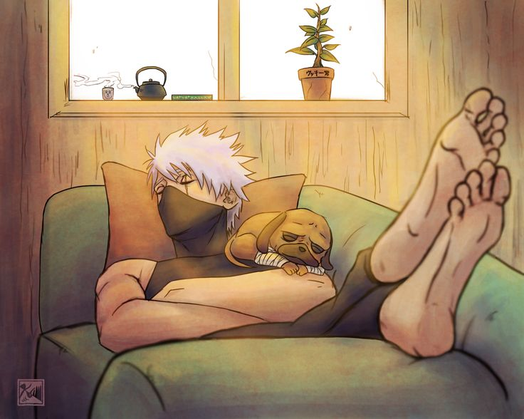 Looks at picture: I'm not gonna pin that adorable picture of kakashi scrolls down:....... Scrolls back up: yes I am
