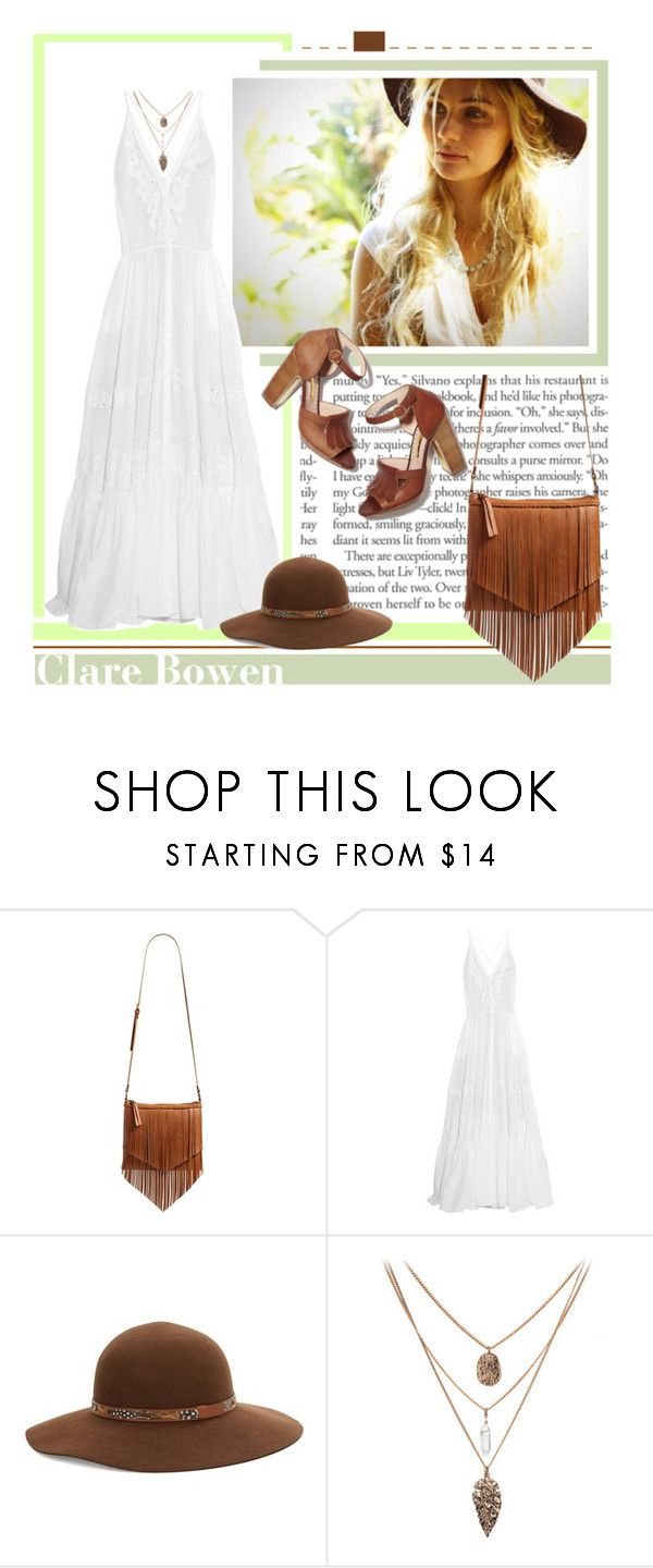 """Clare Bowen"" by fan-addx ❤ liked on Polyvore featuring BP., Roberto Cavalli, Kathy Jeanne, Rupert Sanderson and GetTheLook"