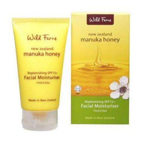 Wild Ferns Manuka Honey SPF15 Facial Moisturiser