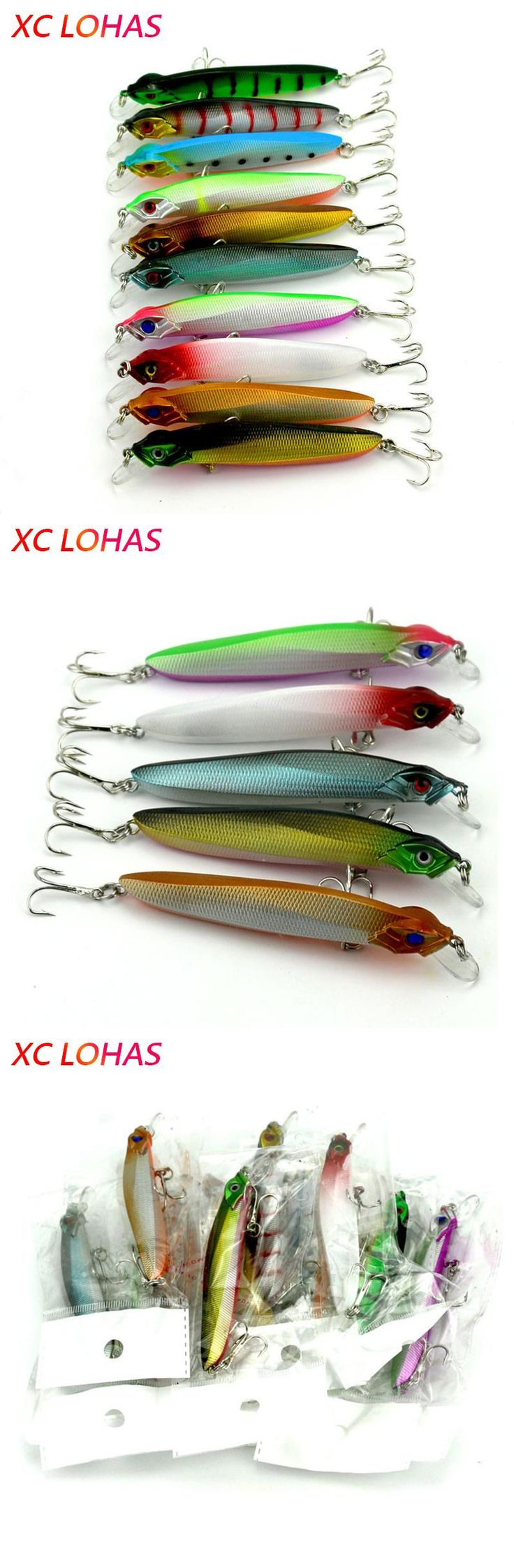 [Visit to Buy] Second half price! 10cm 7.9g Best Fishing Lure Reflective Minnow Crankbait Shining Hard Plastic Artificial Lures Bait  MI065 #Advertisement