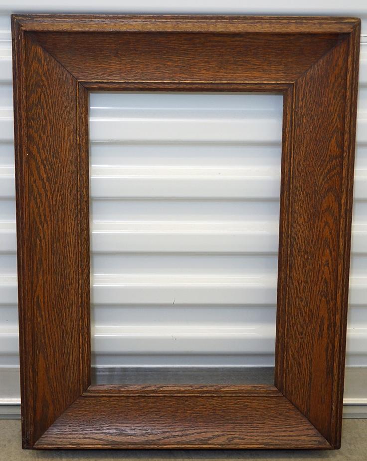 Beautiful antique oak frame for Framed photos for sale