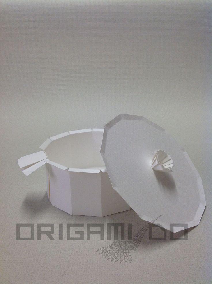Origami Pentola e Coperchio