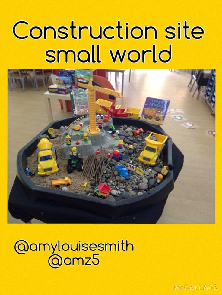 Construction site small world