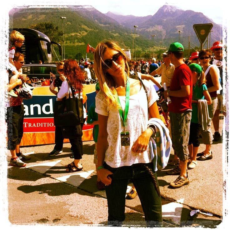 at Tour de Suisse start