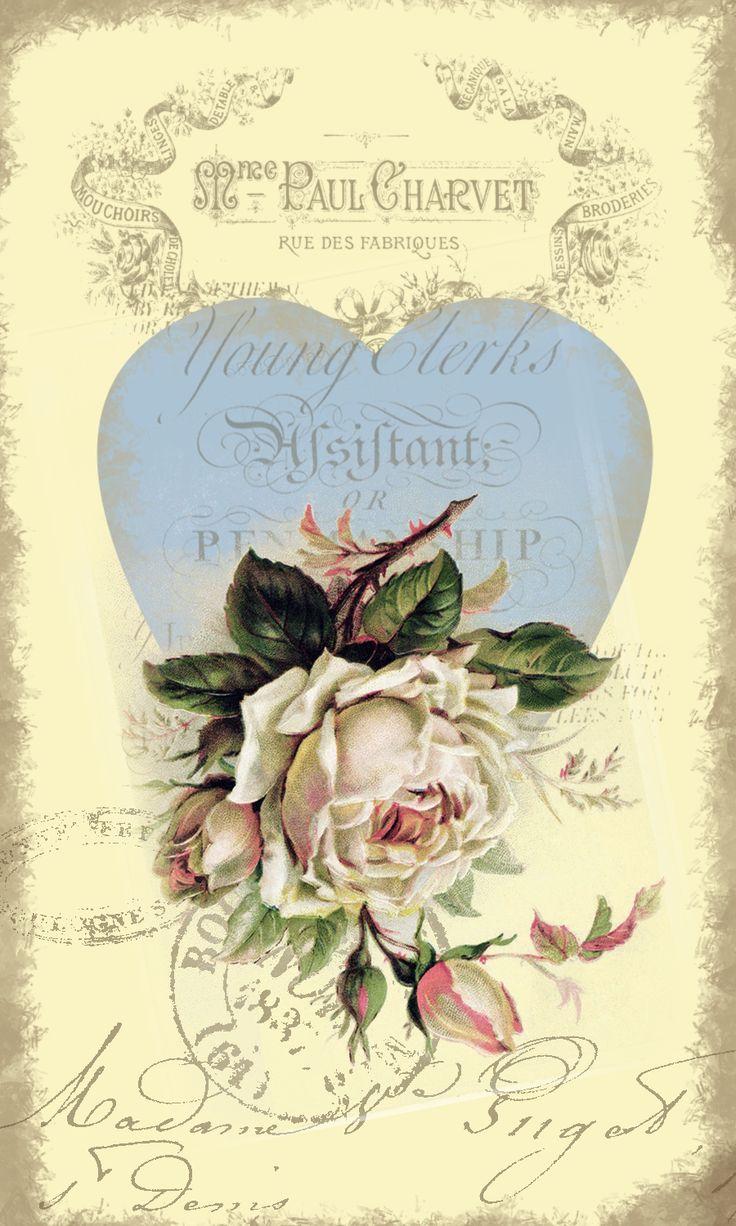 Vintage Rose Ephemera