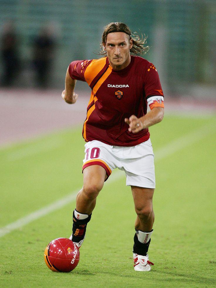 Francesco Totti #roma #legendofthelegends