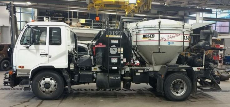 2009 Nissan UD3300 - Rosco RA300 1 Man Asphalt Patch Repair Truck - 30,000 City Owned Miles - Turbo Diesel, Auto, 33,000 GVWR - - Immediate Traffic usage following repair, Joy Stick Controlled... ONLY $36,900 ... (602) 510-5444 ... HD TRUCKS & Equip LLC, PHX AZ ....www.HDTrucksAndEquipmentSales.com