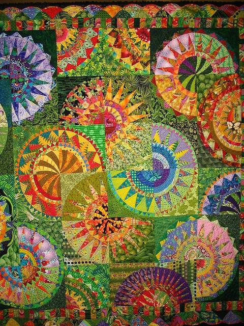 Pacific NW Quilt Show 2007 by Quilteralice, via Flickr, no attribution...