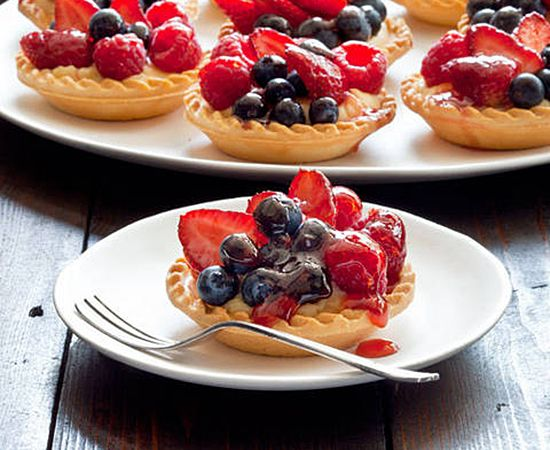 Sweet treats using fresh fruit