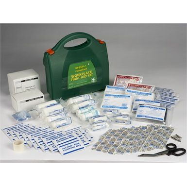 Steroplast Premier BS8599 Workplace #FirstAid Kit Medium is user friendly & simply laid out