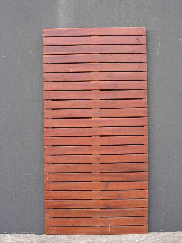 Screen Panel Timber 1800x900x30mm Vertical Slat Bunnings
