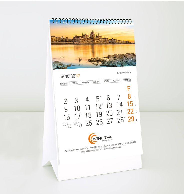 Calendário Minerva 2017.