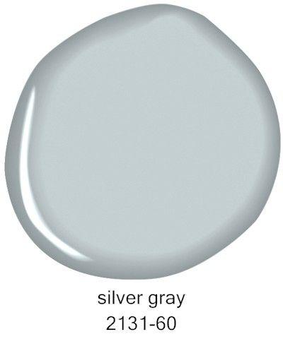 Benjamin Moore Silver Gray 2131-60