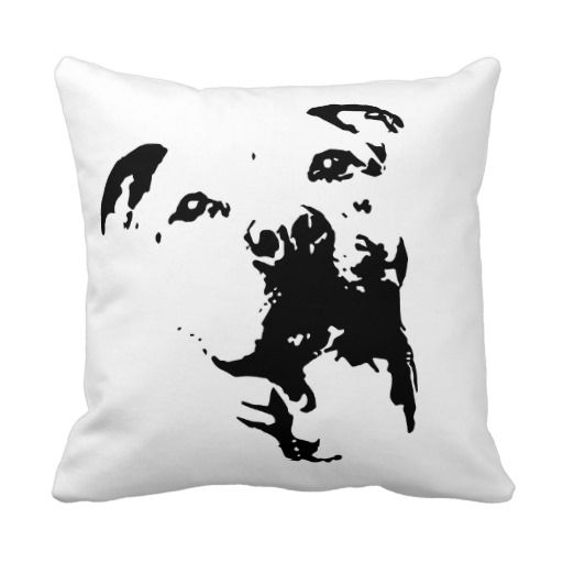 Doggy Throw Pillows : 17 Best images about Pillows for the Dog lover on Pinterest Chihuahuas, Boxer puppies and ...