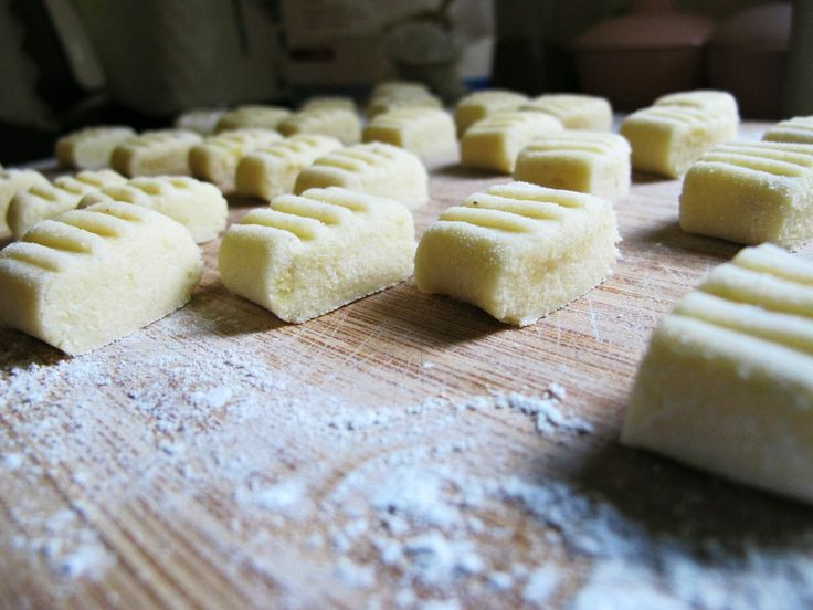 gluten free gnocchi-Tried but came out a bit too heavy even with less flour