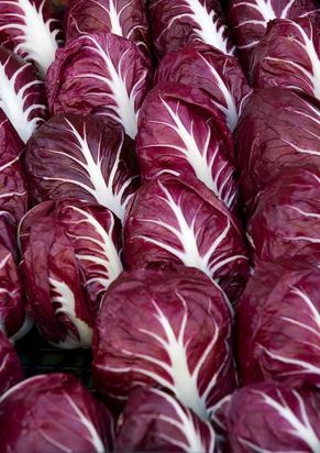 The best way to enjoy the full health benefits of red cabbage is in a slaw with tomatoes, coriander, carrot, lemon juice and zest dressed with some Italian Extra Virgin Olive oil! Everything organic if possible